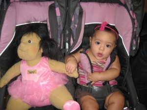 For $60 dollars that doll stayed at FAO Schwartz
