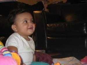 This is Neve watching Wyatt